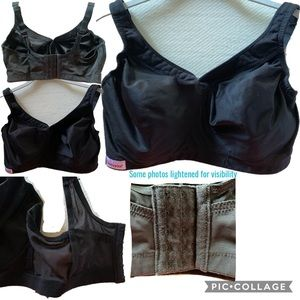 Glamorise Intimates & Sleepwear - Glamorise Black Sports Bra 38F